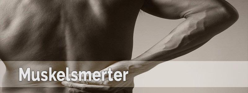 overanstrengelse af muskler